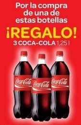 Oferta de Por la compra de una de estas botellas ¡REGALO!  por