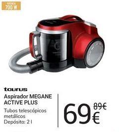 Oferta de Aspirador Megane Active Plus Taurus por 69€