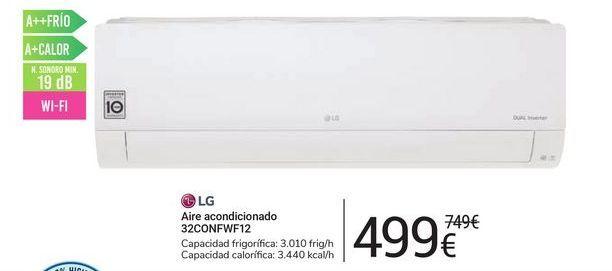 Oferta de Aire acondicionado 32CONFW12 LG por 499€