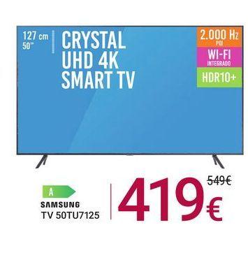 Oferta de TV 50TU7125 Samsung por 419€