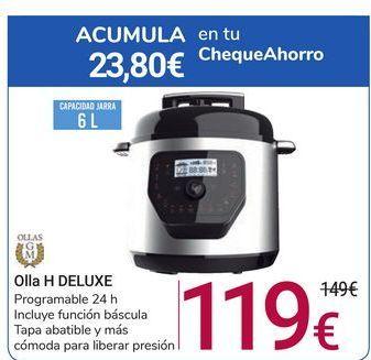 Oferta de Olla H DELUXE GM por 119€