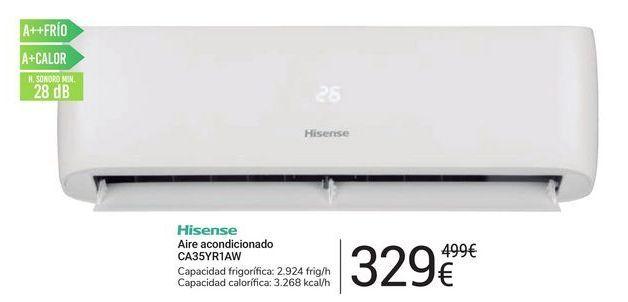 Oferta de Aire acondicionado CA35YR1AW Hisense por 329€