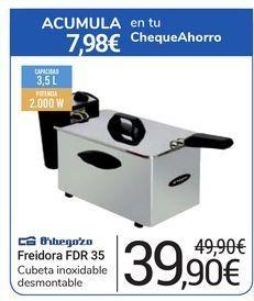 Oferta de Freidora FDR 35 Orbegozo por 39,9€
