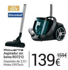 Oferta de Aspirador sin bolsa RO7212 Rowenta por 139€
