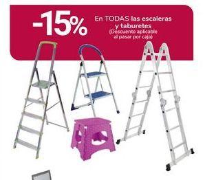 Oferta de En TODAS las escaleras y taburetes por