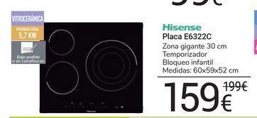 Oferta de Placa E6322C Hisense por 159鈧�