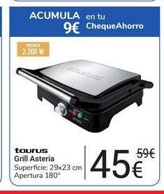 Oferta de Grill Asteria Taurus por 45鈧�