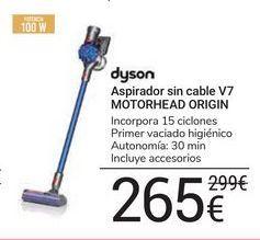 Oferta de Aspirador sin cable V7 Motorhead Origin Dyson por 265€