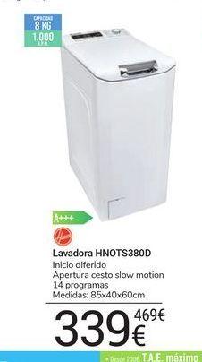 Oferta de Lavadora HNOTS380D Hoover por 339€