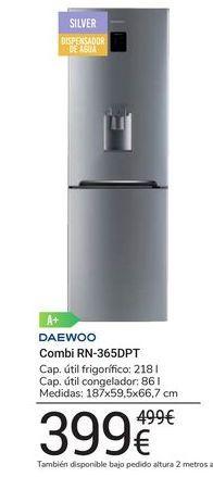 Oferta de Combi RN-365DPT Daewoo por 399€