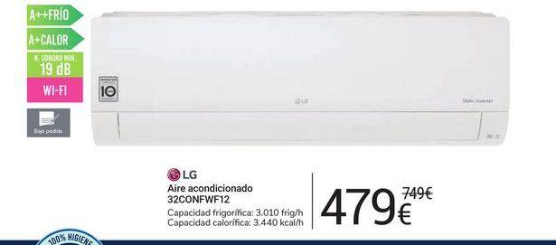 Oferta de Aire acondicionado 32CONFW12 LG por 479€
