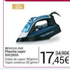Oferta de Plancha vapor SVC2655 Digiline por 17,45€