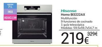Oferta de Horno BI3222AX Hisense por 219€