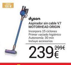Oferta de Aspirador sin cable V7 Motorhead Origin Dyson por 239€