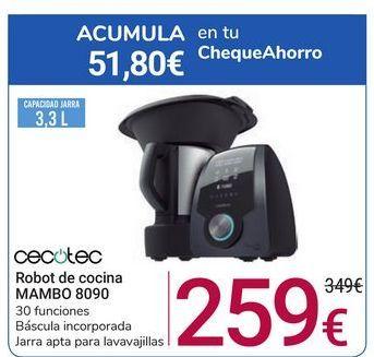 Oferta de Robot de cocina MAMBO 8090 cecotec por 259€