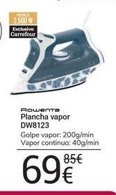 Oferta de Plancha vapor DW8123 Rowenta por 69€