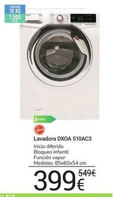 Oferta de Lavadora DXOA 510AC3 Hoover por 399€