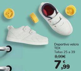 Oferta de Deportivo velcro TEX por 7,99€