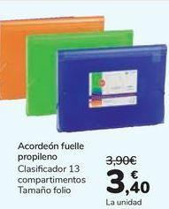 Oferta de Acordeón fuelle propileno por 3,4€