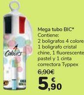 Oferta de Mega tubo BIC por 5,9€