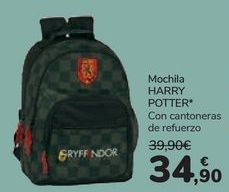 Oferta de Mochila HARRY POTTER por 34,9€