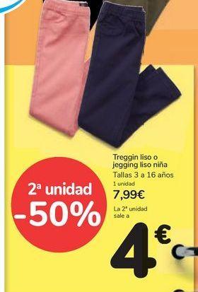 Oferta de Treggin liso o jeggings liso niña por 7,99€