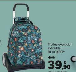 Oferta de Trolley evolution extraible BLACKFIT por 39,9€