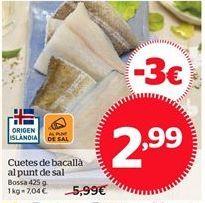 Oferta de Bacalao por 2,99€