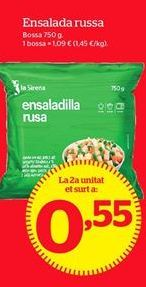Oferta de Ensaladilla rusa por 1,09€
