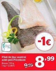 Oferta de Filetes de merluza por 8,99€