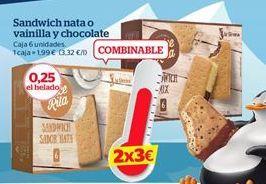 Oferta de Helado sandwich por 1,99€