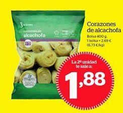 Oferta de Corazones de alcachofa por 2,69€