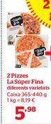 Oferta de Pizza por 5,98€