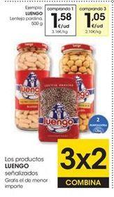 Oferta de Garbanzos Luengo por 1,58€
