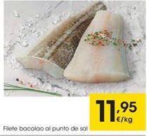 Oferta de Bacalao por 11,95€