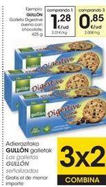 Oferta de Galletas Digestive Gullón por 1,28€