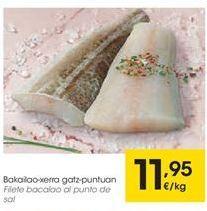 Oferta de Filetes de bacalao por 11,95€