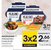Oferta de Mejillones aguinamar por 3,99€
