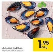 Oferta de Mejillones por 1,95€