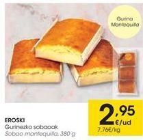 Oferta de Sobaos eroski por 2,95€