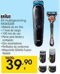 Oferta de Afeitadora corporal Braun por 39,9€