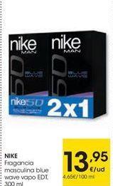 Oferta de Fragancias Nike por 13,95€