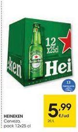Oferta de Cerveza Heineken por 5,99€