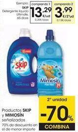 Oferta de Detergente gel Skip por 13,29€