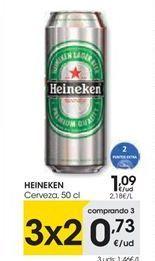 Oferta de Cerveza Heineken por 1,09€