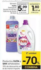 Oferta de Detergente gel Flota por 5,99€