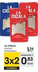 Oferta de Arroz La Cigala por 1,24€