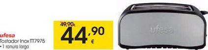 Oferta de Tostadora Ufesa por 44,9€