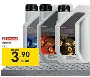 Oferta de Aceite para motor eroski por 3,9€