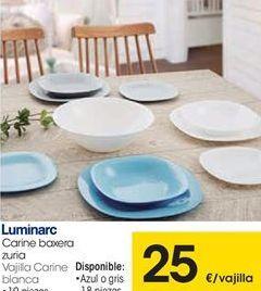 Oferta de Vajilla Luminarc por 25€